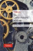 Cover of Tolley's Tax Computations 2017-18