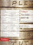 Cover of Tolley's Tax Data 2017-18: Budget 2017 edition