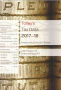 Cover of Tolley's Tax Data 2017-18: Finance Act 2017 edition