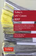 Cover of Tolley's VAT Cases 2017