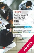 Cover of Tolley's Employment Handbook 2017 (eBook)