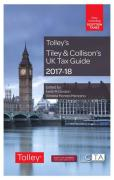 Cover of Tolley's Tiley & Collison's UK Tax Guide 2017-18