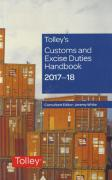 Cover of Tolley's Customs and Excise Duties Handbook Set 2017-18