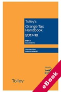 Cover of Tolley's Orange Tax Handbook 2017-18 (eBook)