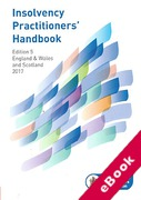 Cover of Insolvency Practitioners Handbook 2017 (eBook)
