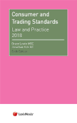 Cover of Consumer and Trading Standards: Law and Practice 2018