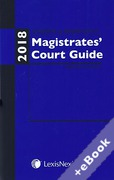 Cover of Anthony and Berryman's Magistrates Court Guide: 2018 (Book & eBook Pack)
