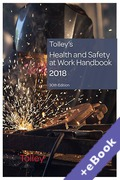 Cover of Tolley's Health and Safety at Work Handbook 2018 (Book & eBook Pack)