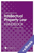 Cover of Butterworths Intellectual Property Law Handbook (Book & eBook Pack)