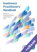 Cover of Insolvency Practitioners Handbook 2017 (Book & eBook Pack)