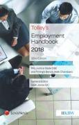 Cover of Tolley's Employment Handbook 2018