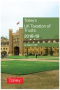 Cover of Tolley's UK Taxation of Trusts 2018-19