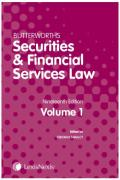 Cover of Butterworths Securities and Financial Services Law Handbook 2018