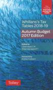 Cover of Whillans's Tax Tables 2018-19: Budget 2018 Edition