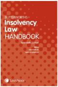 Cover of Butterworths Insolvency Law Handbook 2018