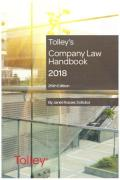 Cover of Tolley's Company Law Handbook 2018