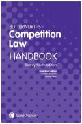 Cover of Butterworths Competition Law Handbook 2018
