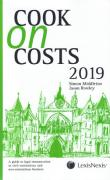 Cover of Cook on Costs 2019