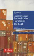 Cover of Tolley's Customs and Excise Duties Handbook Set 2018-19