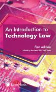 Cover of An Introduction to Technology Law