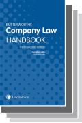 Cover of Two Volume Set: Butterworths Company Law Handbook 2018 & Tolley's Company Law Handbook 26th ed