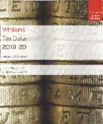Cover of Whillans Tax Data 2019-20: Budget 2018 edition