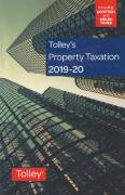 Cover of Tolley's Property Taxation 2019-20