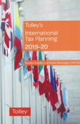 Cover of Tolley's International Tax Planning 2019-20