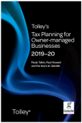 Cover of Tolley's Tax Planning for Owner-Managed Businesses 2019-20
