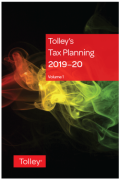 Cover of Tolley's Tax Planning 2019-20