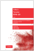 Cover of Tolley's Taxwise 2019-20: Part II