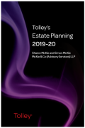 Cover of Tolley's Estate Planning 2019-20