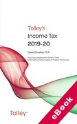 Cover of Tolley's Income Tax 2019-20 - Main Annual (eBook)