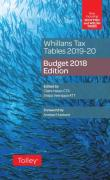 Cover of Whillans Tax Tables 2019-20: Budget Edition