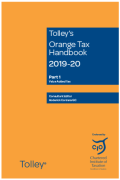 Cover of Tolley's Orange Tax Handbook 2019-20