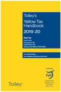 Cover of Tolley's Yellow Tax Handbook 2019-20