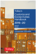 Cover of Tolley's Customs and Excise Duties Handbook Set 2019-20