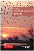 Cover of Tolley's Worldwide Tax Guide 2019-20