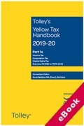 Cover of Tolley's Yellow Tax Handbook 2019-20 (eBook)