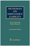 Cover of Munkman on Employer's Liability