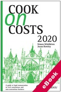 Cover of Cook on Costs 2020 (eBook)