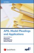 Cover of APIL Model Pleadings and Applications