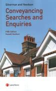 Cover of Silverman and Hewitson: Conveyancing Searches and Enquiries