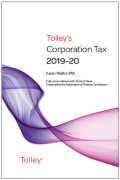 Cover of Tolley's Corporation Tax 2019-20: Post-Budget Supplement & Main Annual