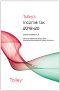 Cover of Tolley's Income Tax 2019-20: Post-Budget Supplement & Main Annual