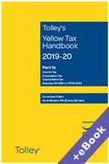 Cover of Tolley's Yellow Tax Handbook 2019-20 (Book & eBook Pack)