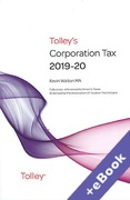 Cover of Tolley's Corporation Tax 2019-20 (Book & eBook Pack)