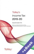 Cover of Tolley's Income Tax 2019-20 - Main Annual (Book & eBook Pack)