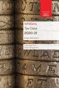 Cover of Whillans Tax Data 2020-21: Budget Edition
