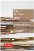 Cover of Tolley's Tax Cases 2020
